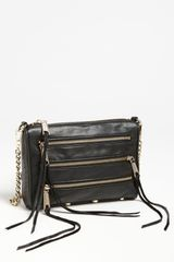 Rebecca Minkoff 5 Zip Mini Crossbody Bag - Lyst