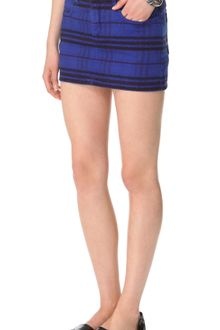See By Chloé Tribal Print Denim Skirt - Lyst