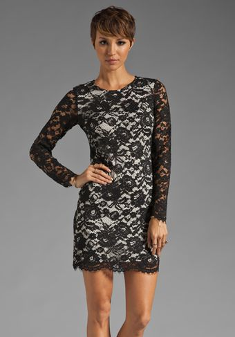 Theory Galician Marique Floral Lace Dress - Lyst