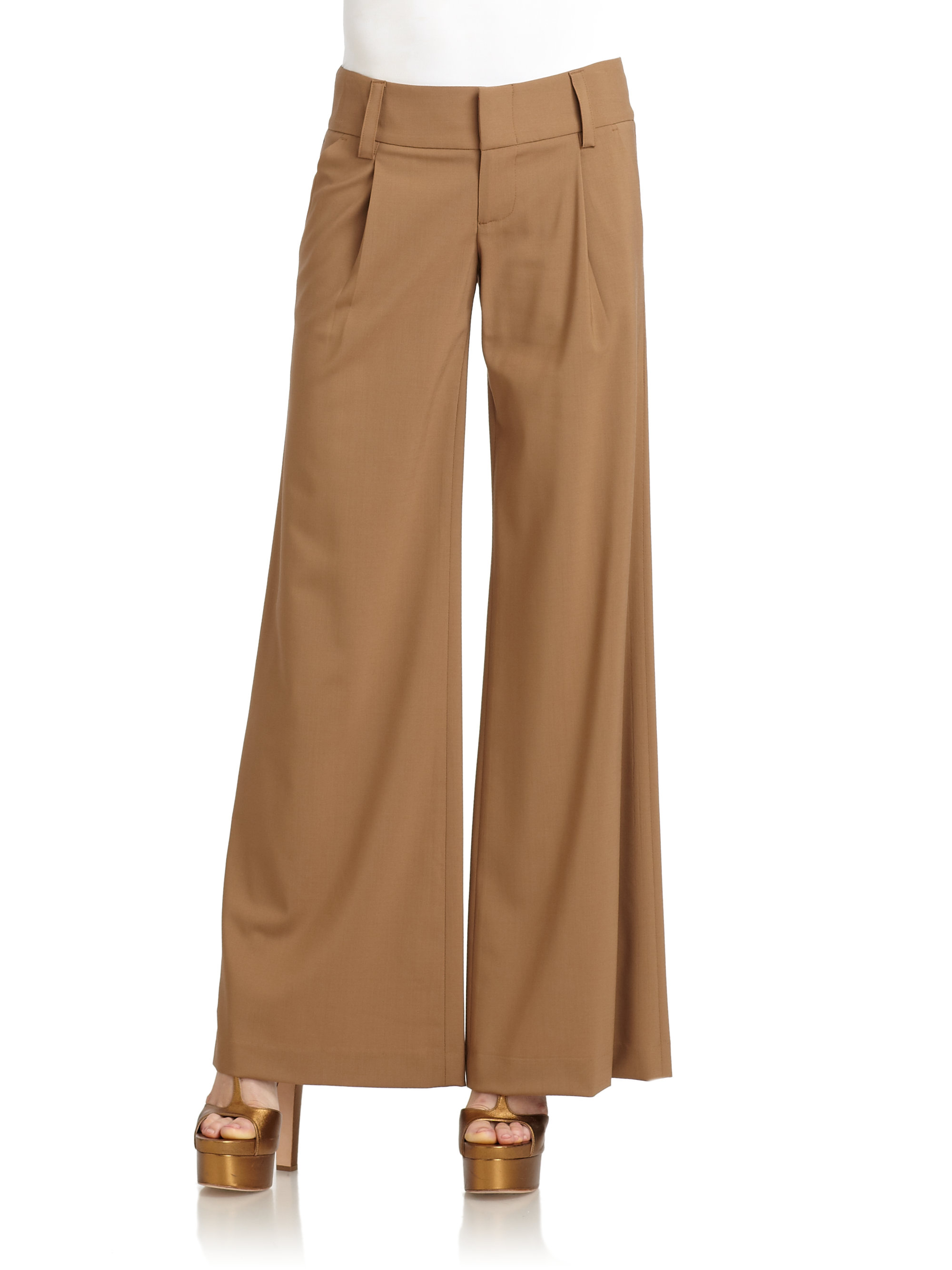 TROUSERS - 3/4-length trousers Alice & Olivia NvYFt