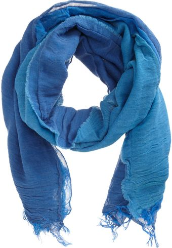 Barneys New York Multicolor Paneled Scarf - Lyst