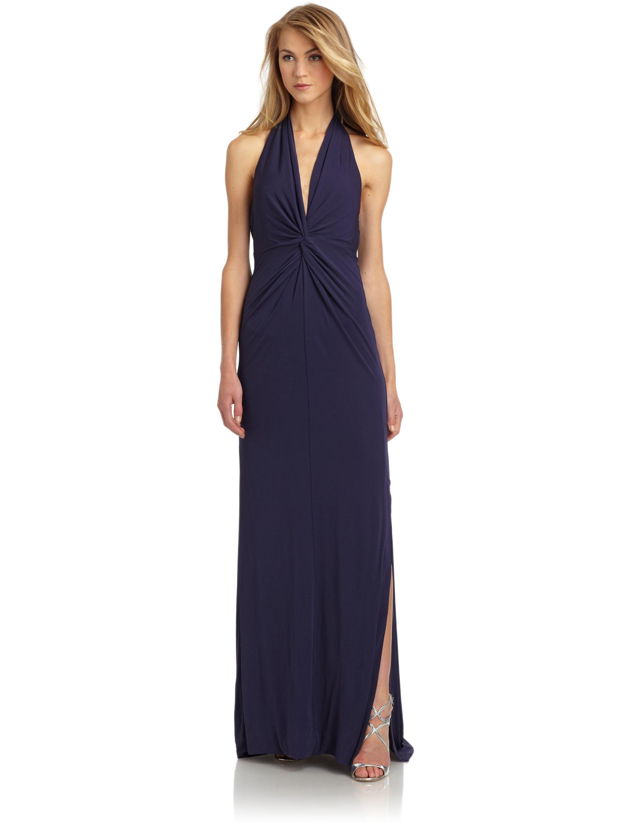 Halston Heritage Blue Dress  Cocktail Dresses 2016
