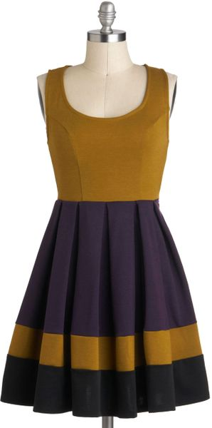 ModCloth Verdant Vineyard Dress - Lyst