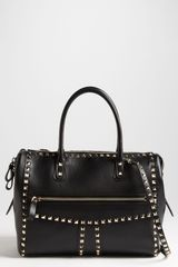 Valentino Rockstud Small Leather Handbag - Lyst