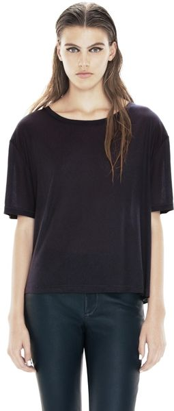 Acne Wonder Ten Navy - Lyst