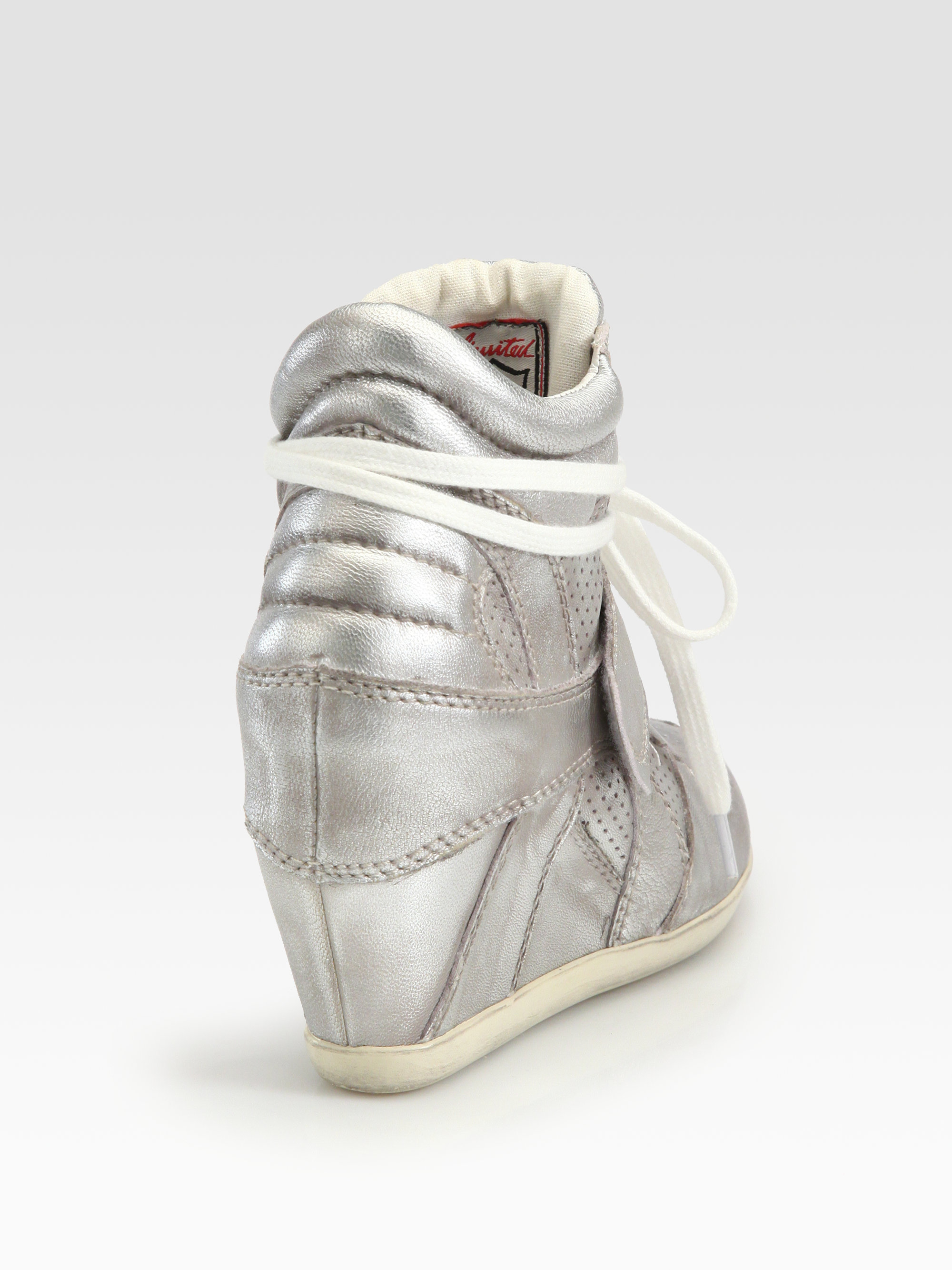 7fc84ef857ff Gallery. Previously sold at  Saks Fifth Avenue · Women s Wedge Sneakers  Women s Ash Bowie ...