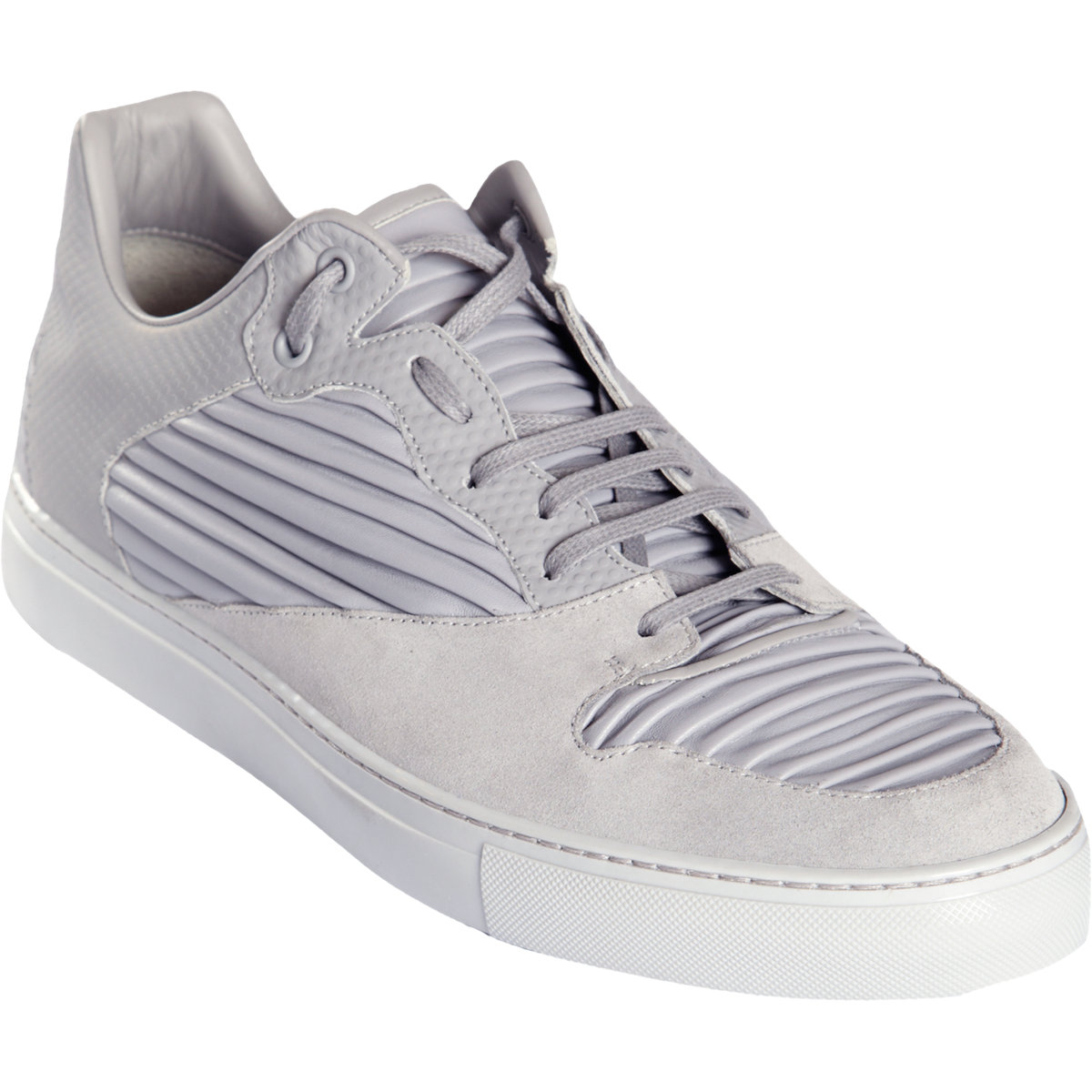balenciaga low top sneakers in gray for men grey lyst. Black Bedroom Furniture Sets. Home Design Ideas