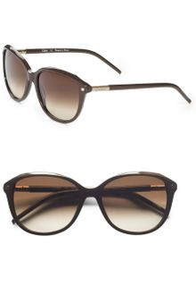Chloé Cat Eye Acetate Sunglasses - Lyst