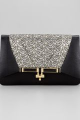 Kara Ross Priscilla Sequined Clutch Bag  - Lyst