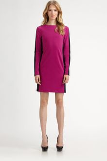 Michael by Michael Kors Color Block Shift Dress - Lyst