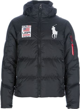 Polo Ralph Lauren Hooded Padded Jacket - Lyst