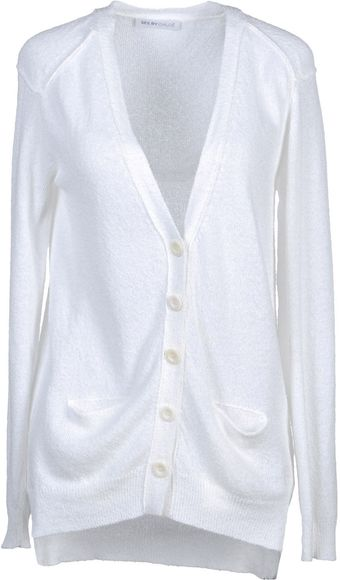 See By Chloé Cotton Cardigan - Lyst