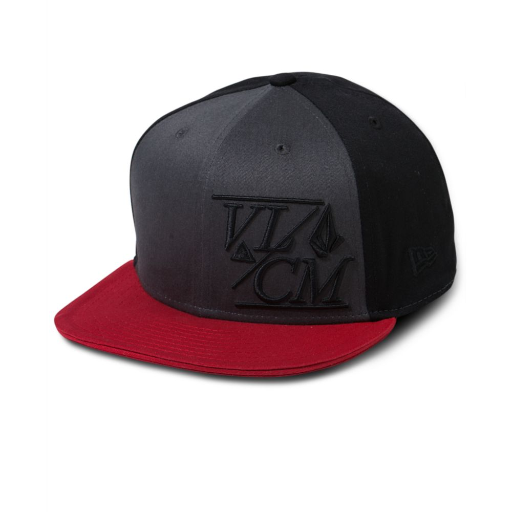 e53a9cec7fb ... where to buy lyst volcom new era 8fifty snap back hat in black for men  b20fa