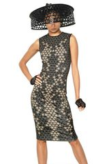 Alexander McQueen Lace Print On Viscose Jersey Dress - Lyst