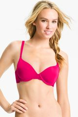 Calvin Klein Customized Lift Underwire Contour Bra - Lyst