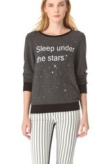 Wildfox I Believe in Magic Sweatshirt - Lyst