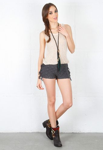 Nightcap Clothing Fringe Short  - Lyst