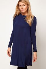 ASOS Collection Asos Swing Dress with Long Sleeves - Lyst