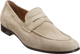 Barneys New York Apron Toe Penny Loafer - Lyst
