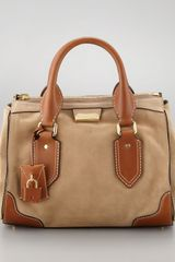 Burberry Medium Bowler Bag Camel - Lyst