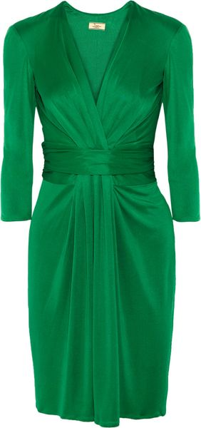 Issa Ruched Silkjersey Dress - Lyst