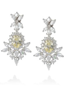 Kenneth Jay Lane Crystal Earrings - Lyst
