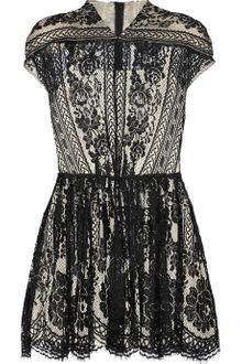 Lover Wiccan Lace Mini Dress - Lyst
