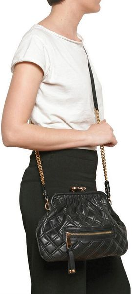 Marc Jacobs Quilted Leather Shoulder Bag 9