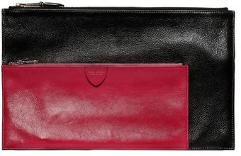 Marc Jacobs Multi Pouch Bicolored Leather Wallet - Lyst