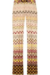 Missoni Crochetknit Straightleg Pants - Lyst