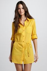 Tory Burch Shirtdress  - Lyst