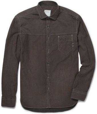 Billy Reid Courtland Slimfit Cottontwill Shirt - Lyst