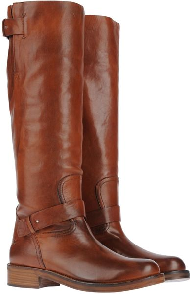 costume national boots in brown
