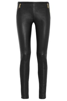 Emilio Pucci Stretch-Leather Legging-Style Pants - Lyst