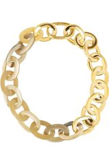 Maiyet 18karat Goldplated and Horn Necklace - Lyst