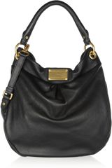Marc By Marc Jacobs The Classic Q Hillier Hobo Textured Leather Shoulder Bag - Lyst