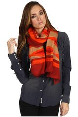 Marc By Marc Jacobs Stripe Scarf - Lyst