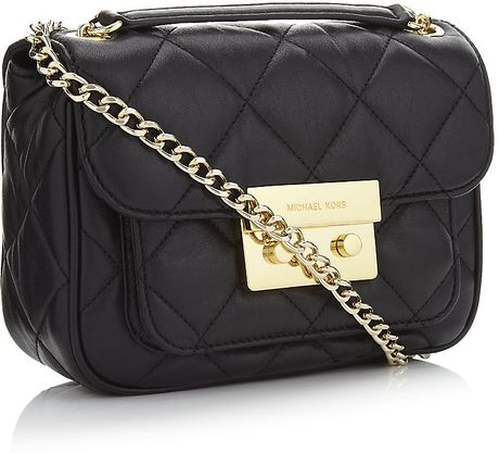 Michael Michael Kors Large Sloan Quilted Shoulder Bag Black 92