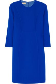 Michael Kors Stretch Wool-Crepe Dress - Lyst
