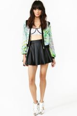 Nasty Gal Osaka Bomber Jacket in Multicolor (floral) - Lyst