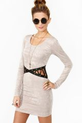 Nasty Gal Corset Dress - Lyst