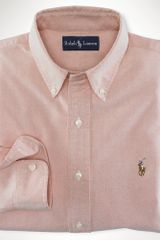 Polo Ralph Lauren Custom-fit Solid Oxford - Lyst