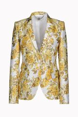 Stella McCartney citrus Print Blazer