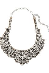 Valentino Swarovski Crystal Necklace - Lyst
