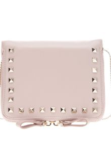 Valentino Studded Shoulder Bag - Lyst