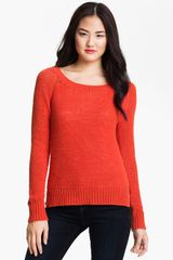 Vince Camuto Open Stitch Sweater - Lyst