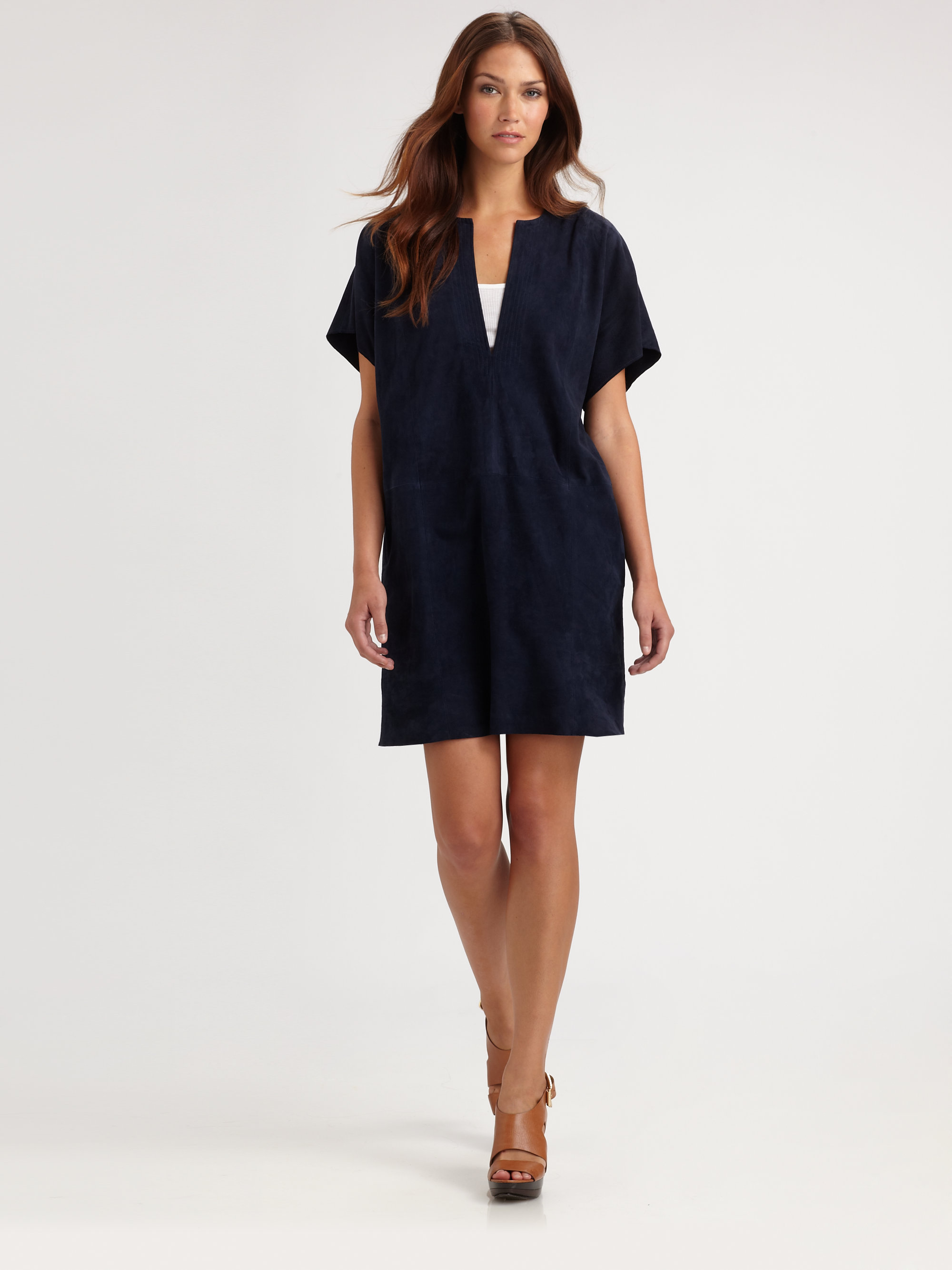 Navy Blue Tunic Dress