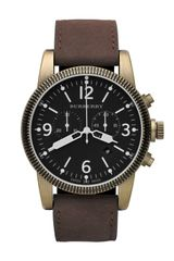 Burberry Military Chronograph Watch - Lyst