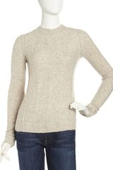 Free People Mixedknit Sweater - Lyst