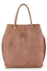 Gianfranco Ferré Large Washed Leather Tote Bag - Lyst